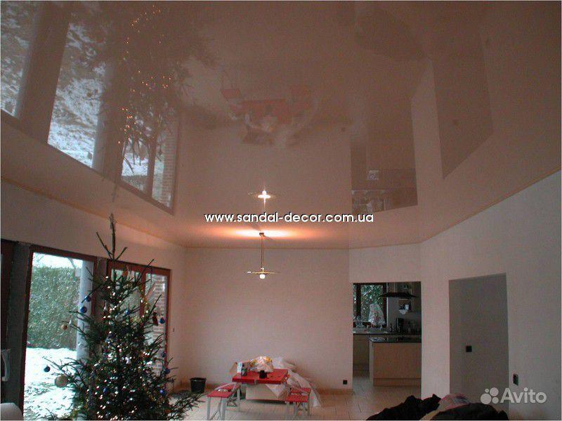фото потолков в комнате