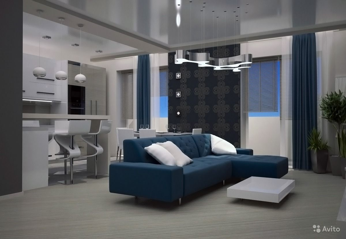 Красивые квартиры студии фото