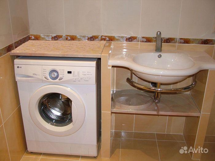 Дизайн ванной комнаты со стиральной машиной 4 кв м