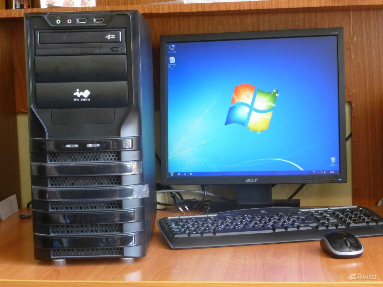 Мощный компьютер, системный блок монитор. Саратовская область,  Саратов