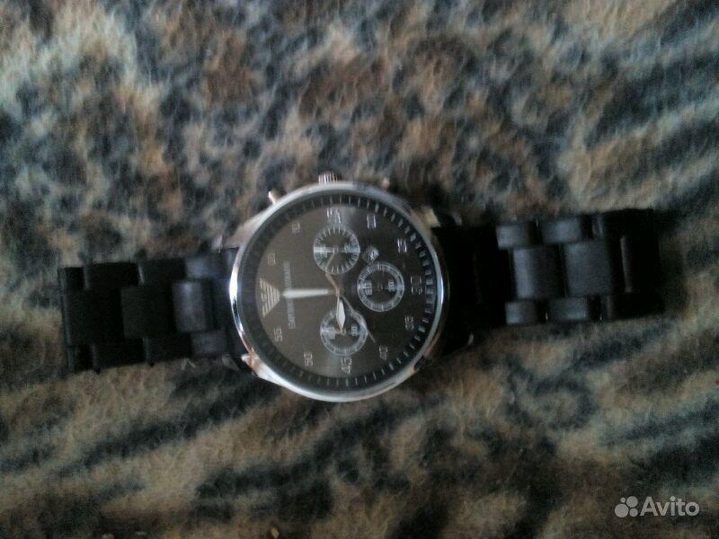 Продаю часы armani ремешок задний немного сломан. Волгоградская область, Елань