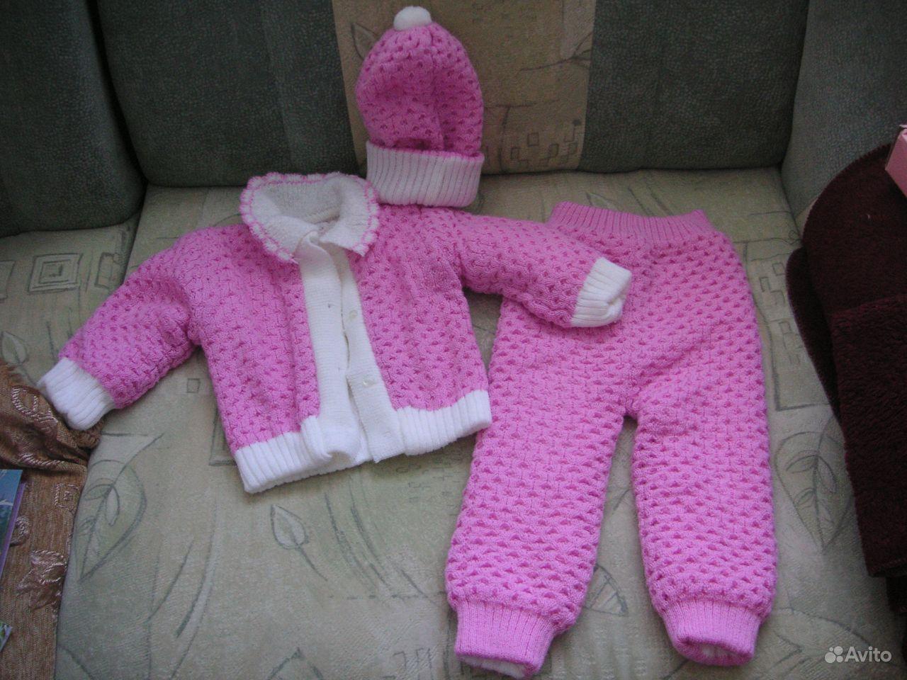 Вязание спицами на 1 годик девочку 77