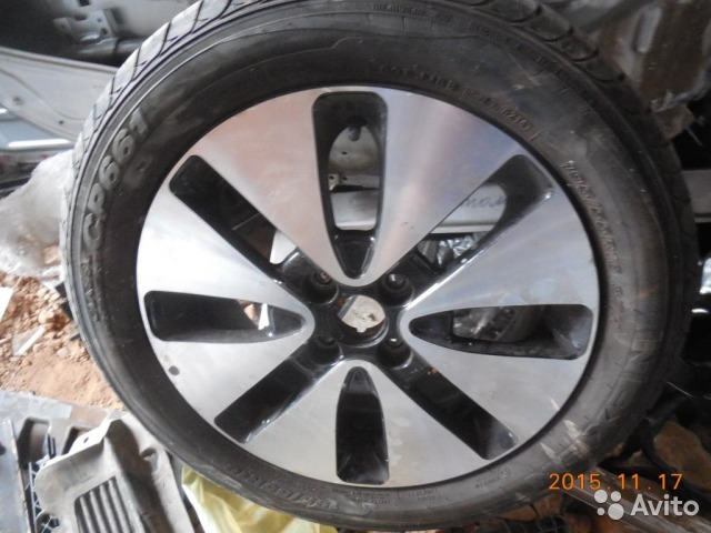 колеса литье