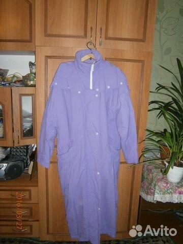 Демисезонное утепленное пальто с мехом внутри 89193233610 купить 1