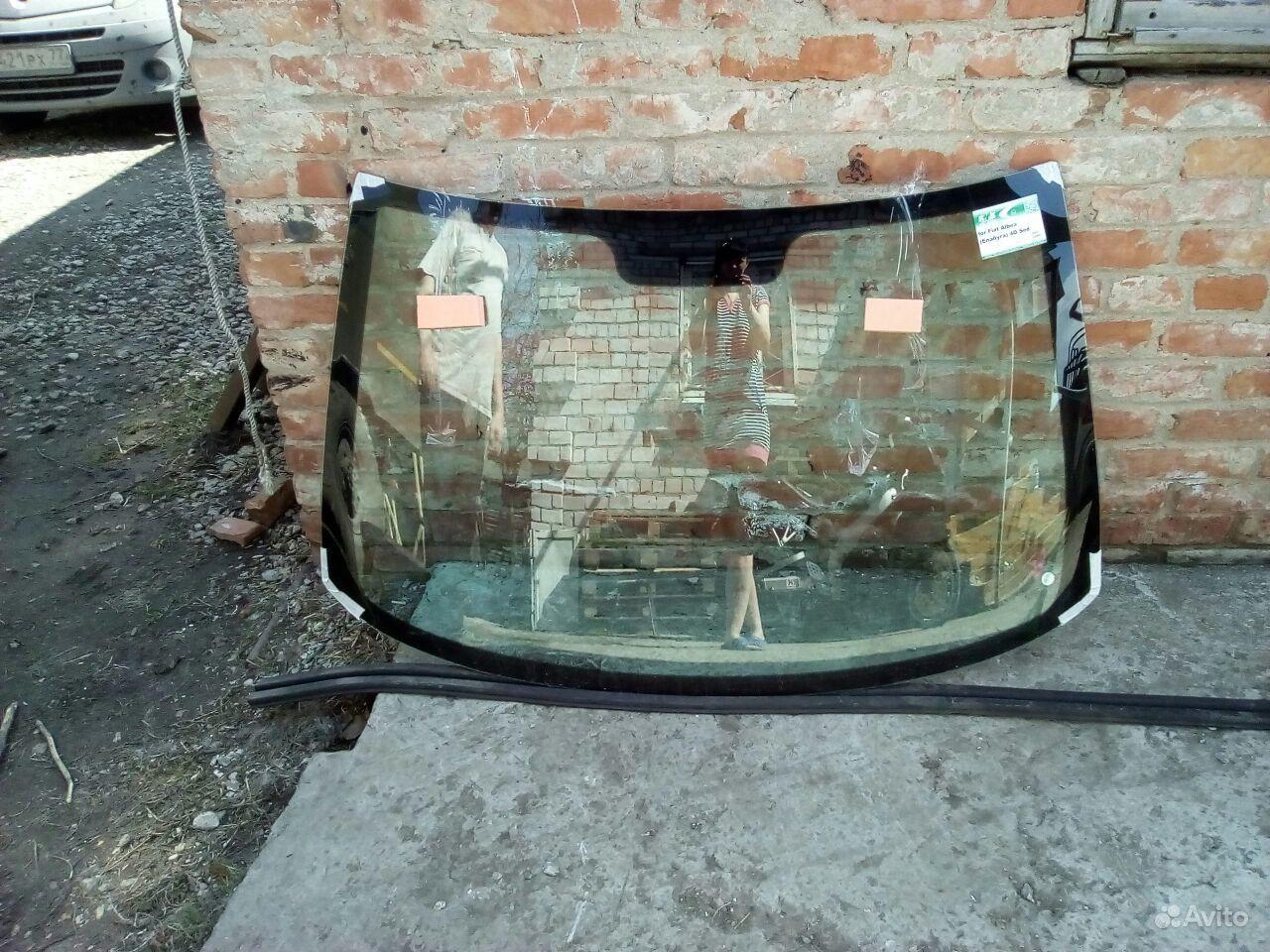 Лобовое стекло фиат альбеа