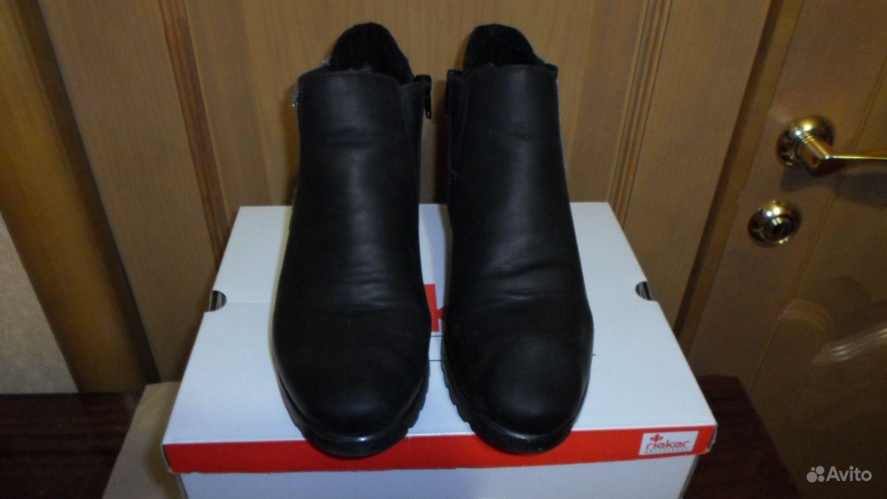 58f601ab Зимние ботинки Rieker, новые (можно почтой) | Festima.Ru ...