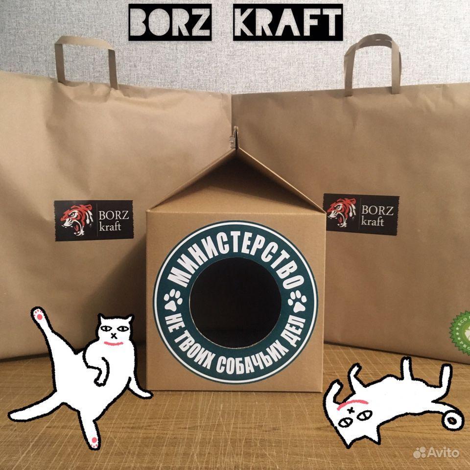 Домик для кота borz Craft