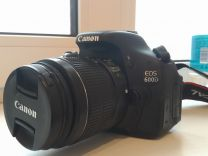 Canon 600d EF-S 18-55 mm