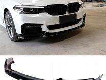 Сплиттер и диффузор заднего бампера BMW 5 G30