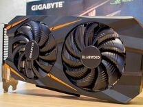 Видеокарта GeForce GTX 1060 Gigabyte Windforce 3G — Товары для компьютера в Москве