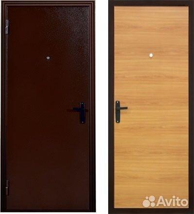 облицовка металлической двери в ступино