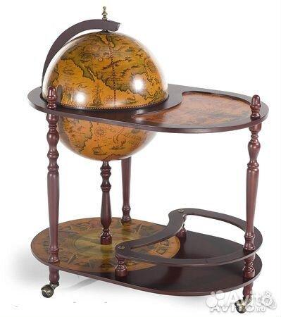 Стол глобус