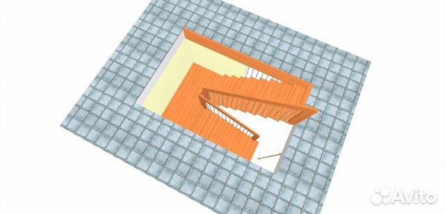 Немецкая лестница из массива  89109139515 купить 3