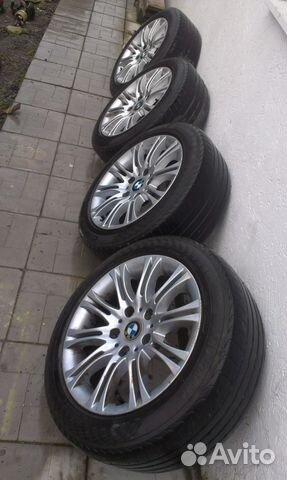Продам диски BMW R16 с летней резиной 205/55/16