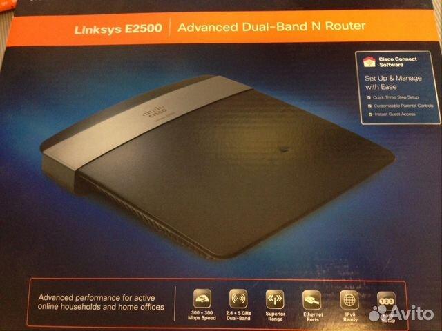Точка доступа Cisco Linksys E2500 купить в Свердловской области на