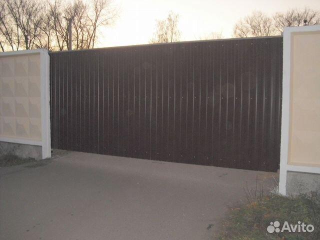 Ворота для проемов 4 2 м откатные ворота в сейсмике