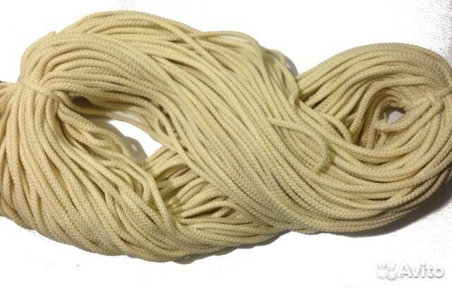 полиэфирный шнур для вязания ковров 200 метров Festimaru
