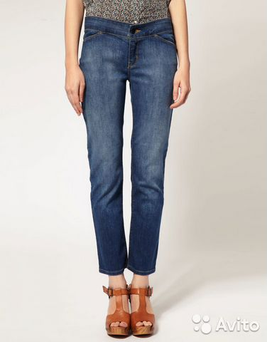 Джинсы Surface To Air Cropped Denim Jean+ чехол4/4— фотография №1