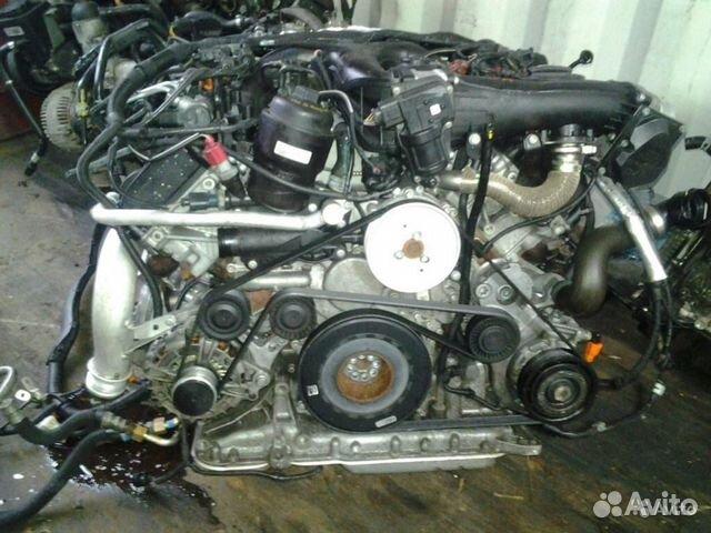Двигатель CLA 3.0 тди Ауди А4 А6 Q5 Q7 Блок гбц— фотография №1