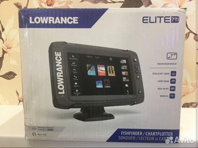 lowrance elite 7 ti totalscan на авито