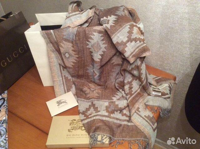 Burberry новый палантин шарф оригинал купить в Москве на Avito ... ece03956862