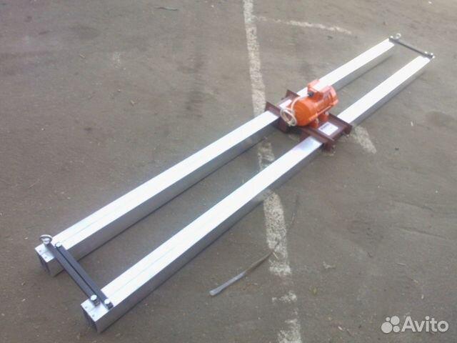Виброрейка для бетона телескопическая купить мешок смеси бетона