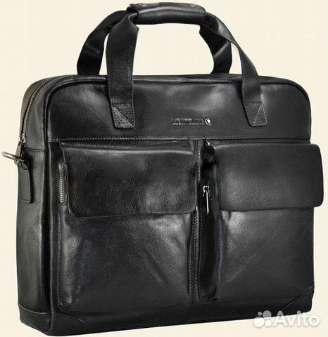 0b87db96cac7 Мужская кожаная сумка Montblanc Big Мужские сумки купить в Москве на ...