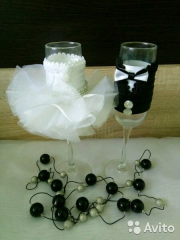 Купить свадебные бокалы в брянске