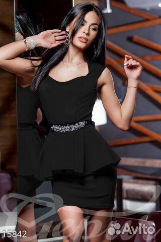 d549e75c056 Платье с баской