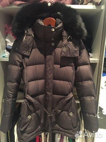 Пуховик Burberry зима купить в Москве на Avito — Объявления на сайте ... 4b721b6144d
