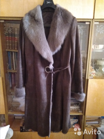 Авито ру куплю в москве натуральную дубленку р56 58 женскую