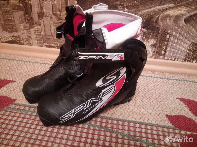 Лыжные ботинки Spine— фотография №1. Адрес  Свердловская область ... 5cc1a22a532