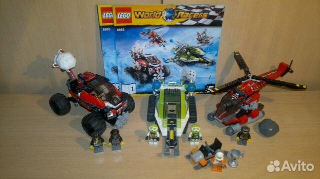 Лего Lego World Racers 8863 Снежный буран купить в Красноярском крае ...