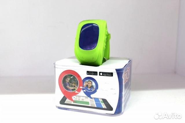 Часы Следящие За Передвижением Ребёнка Q50 Green f59a5c7dad9aa