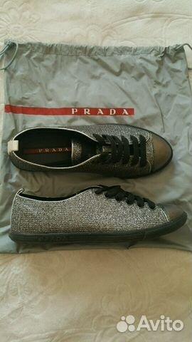 Кеды Prada оригинал   Festima.Ru - Мониторинг объявлений bfddde24973