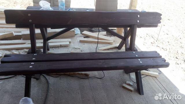 Стол со скамейками 89131837164 купить 6