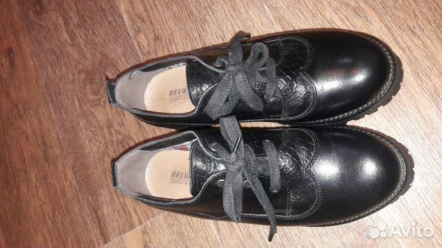 Ботинки (туфли) belwest 37 размер 89132721450 купить 2