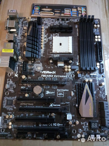 ASRock FM2A85X Extreme6 Motherboard Driver (2019)