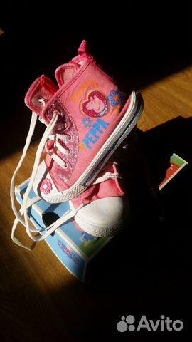 Ботинки 26рр. Peppa pig  283000 купить 1