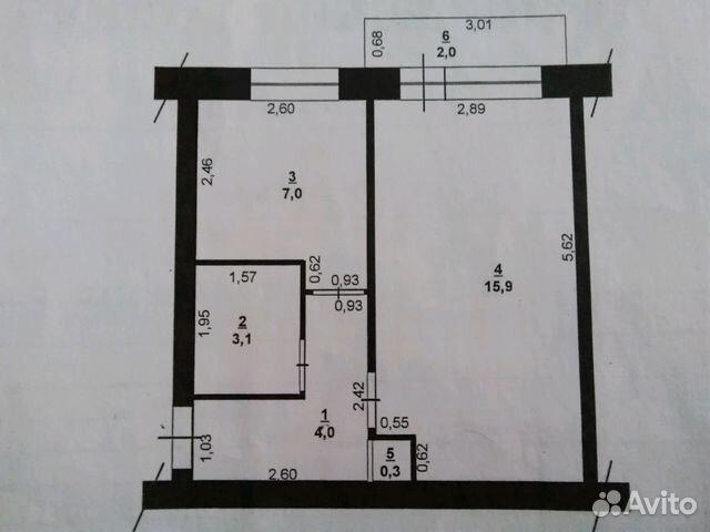 Продается однокомнатная квартира за 1 550 000 рублей. Ханты-Мансийский АО, Урай ХМАО-Югра мкр 3 дом 36.