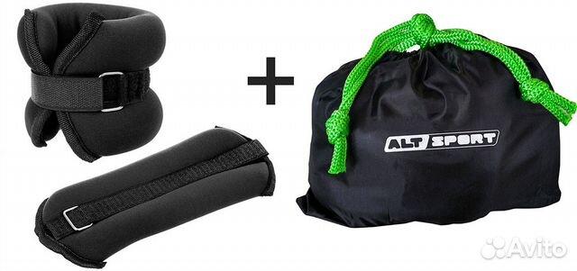 Утяжелители ALT sport (2Х1,0кг) (нейлон) В сумке 89106535029 купить 1
