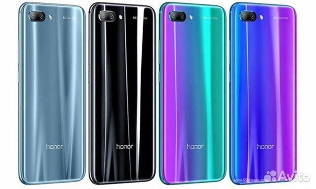 b876bb7696154 Задняя крышка Huawei Honor 10 (разные цвета) купить в Москве на ...
