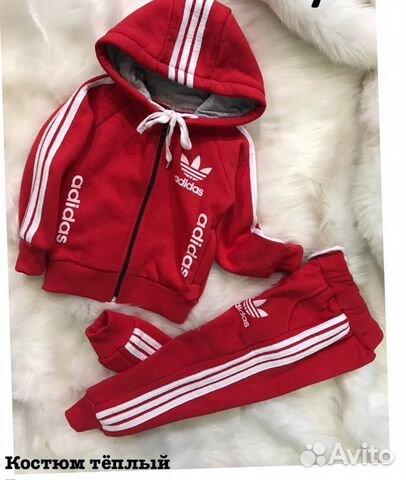 998b1f76517b Теплый спортивный костюм Adidas для девочки