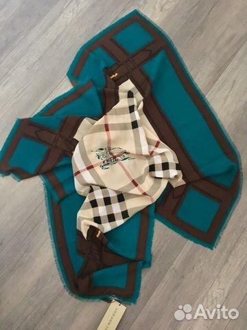 Burberry платок шёлковый. Оригинал купить в Москве на Avito ... 82932724200