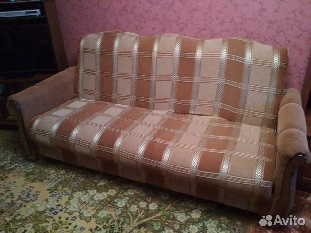 мягкий уголок диван и 2 кресла купить в самарской области на Avito