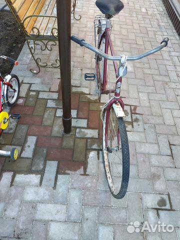 Продаю велосипед аист гранатового цвета