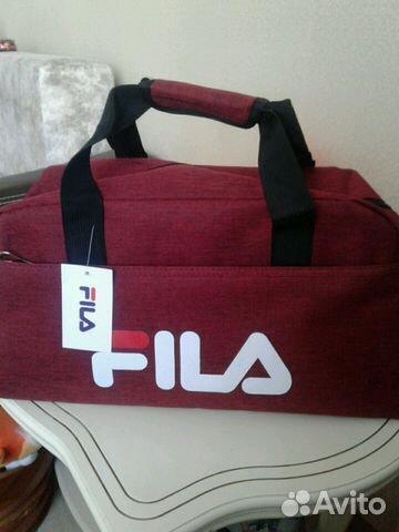 de7118071763 Спортивная сумка Fila. Supreme купить в Свердловской области на ...