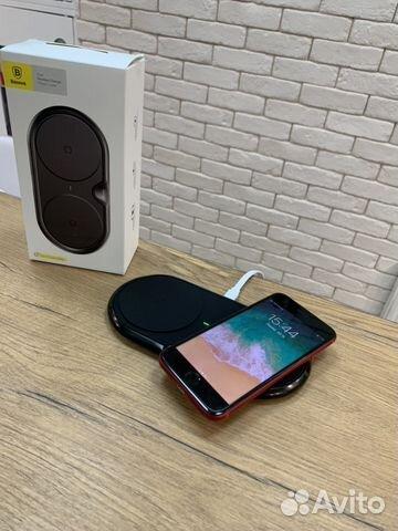 Беспроводное зарядное устройство Baseus Dual Wirel 89527999199 купить 2