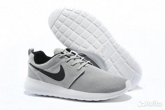 14c7975b4bbd70 Nike Roshe Run (Light grey/Black) - (040) | Festima.Ru - Мониторинг ...