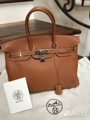 9844bbf9 Сумка hermes Birkin Bag 35 Togo Phw купить в Москве на Avito ...